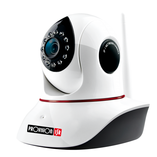 מצלמת IP בייתית ממונעת באיכות full hd 1080P  עם ראיית לילה וחיישן תנועה