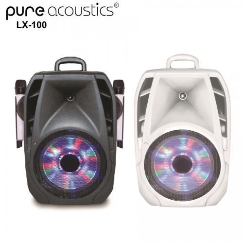 מערכת בידור וקריוקי ניידת 10 אינטש מבית Pure Acoustics