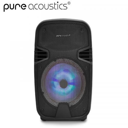 """רמקול בידורית עוצמתי בלוטות' נייד 8"""" של המותג Pure Acoustics"""