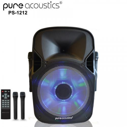 מערכת בידור וקריוקי ניידת 12 אינטש מבית Pure Acoustics