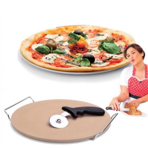 אבן טאבון קרמית להכנת פיצה ולחמים כמו במאפייה - קרין גורן