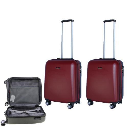 נוסעים בכיף עם 2 מזוודות טרולי של המותג המוביל SWISS VOYAGER - מומלץ!
