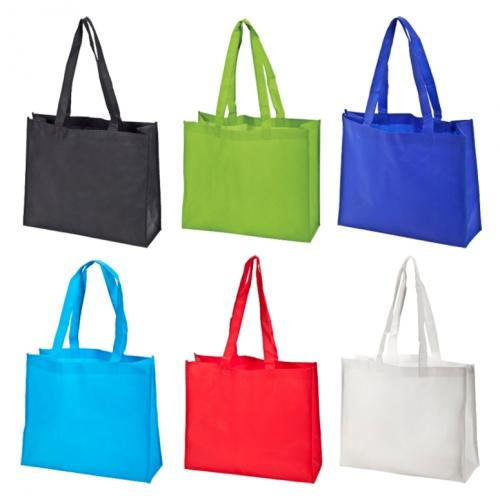 תיק לכנסים וקניות מבד לא ארוג במגוון צבעים