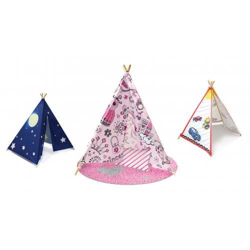חדש ומדליק אוהל טיפי לילדים - במגוון הדפסים מבית Emma Hansson