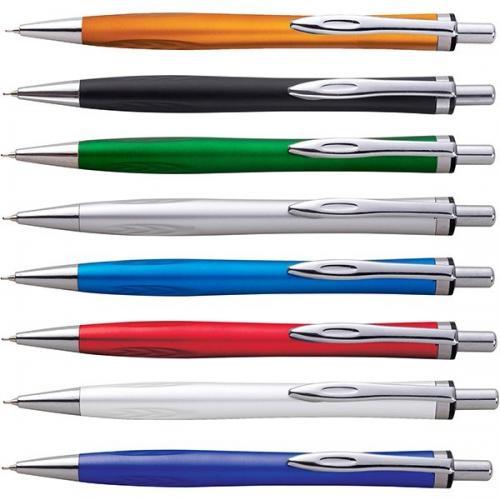 עט פלסטי אופנתי ראש סיכה עם דיו ג'ל-  בצבעים מטאליים