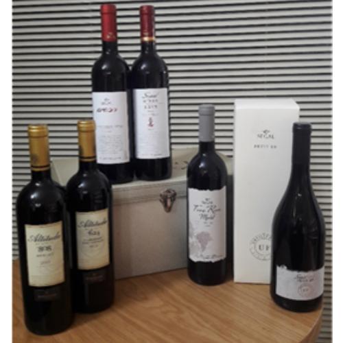 מארז חבילת שי יינות ברקן