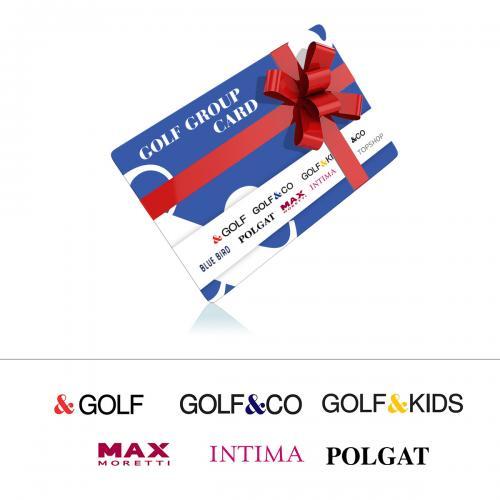 """כרטיס גיפטקארד של רשת גולף בשווי 750 ש""""ח"""