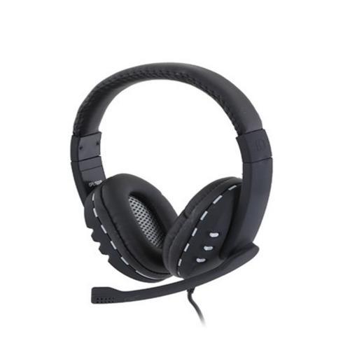אוזניות איכותיות+ מקרופון עם חיבור USB למחשב מבית Gplus