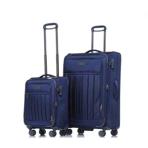 סט 2 מזוודות בד 24+28 מסדרת HIMALAYA של JEEP