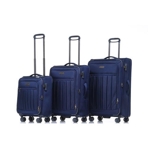 סט 3 מזוודות בד מסדרת HIMALAYA של JEEP