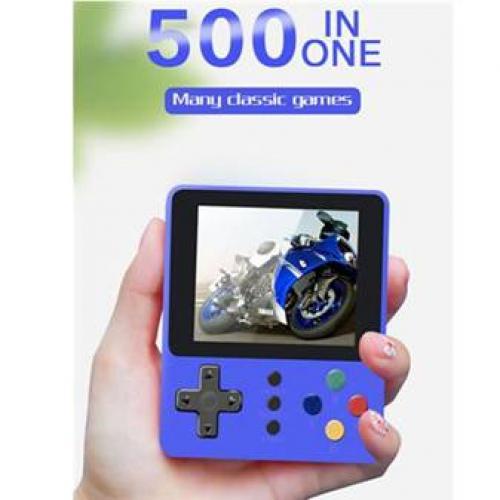 500 משחקי וידאו במכשיר אחד - כולל שלט לשחקן נוסף