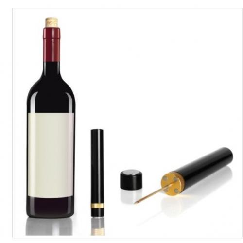 פותחן יין קומפקטי בלחץ אוויר