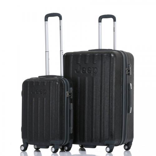 סט 2 מזוודות קשיחות  24+28 מסדרת MAKALU של JEEP