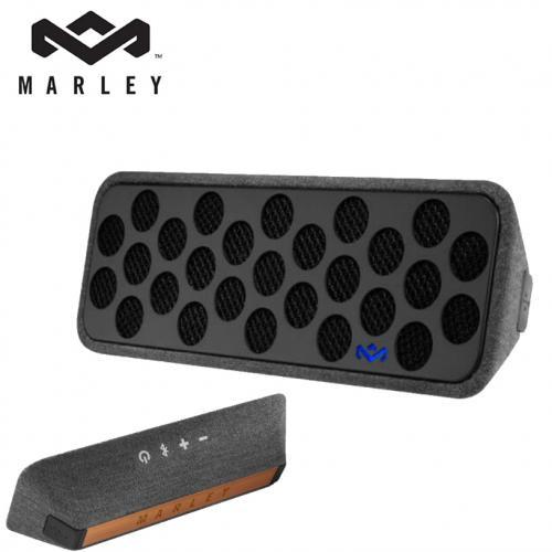 מערכת אודיו ניידת בלוטות' נטענת+ דיבורית - Liberate מבית Marley