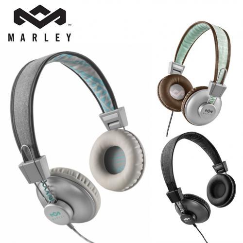 אוזניות POSITIVE VIBRATION לחווית סאונד עוצמתית מבית Marley