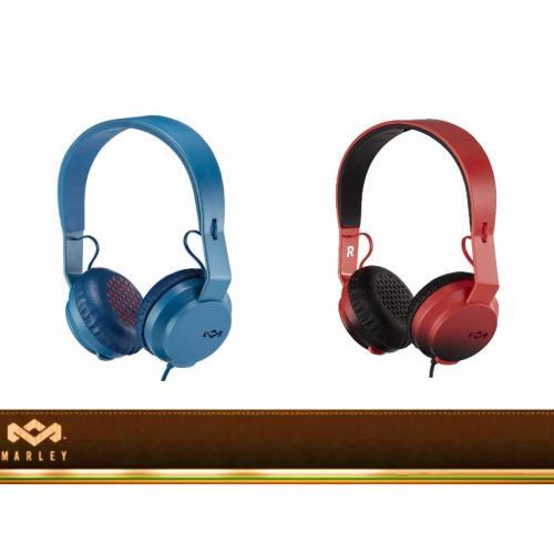 REBEL - אוזניות ON EAR עם דיבורית מבית Marley