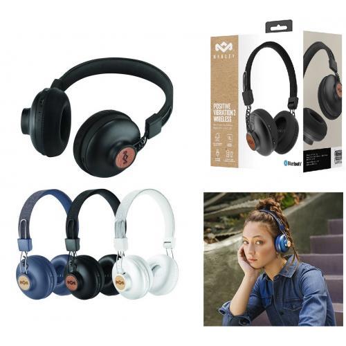 אוזניות On Ear מסדרת Positive Vibration הפופולרית