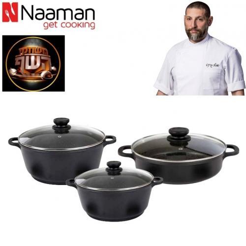 מארז בישול מבשלים גרניט naaman
