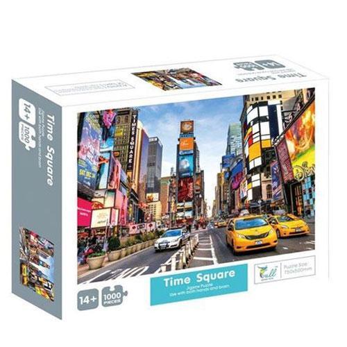 משחק חשיבה ויצירה לכל המשפחה! פאזל 1,000 חלקים - ניו יורק
