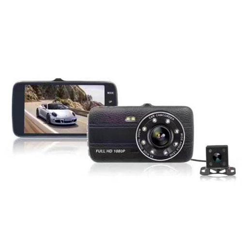 מצלמת רכב משולבת צילום קדמי ואחורי