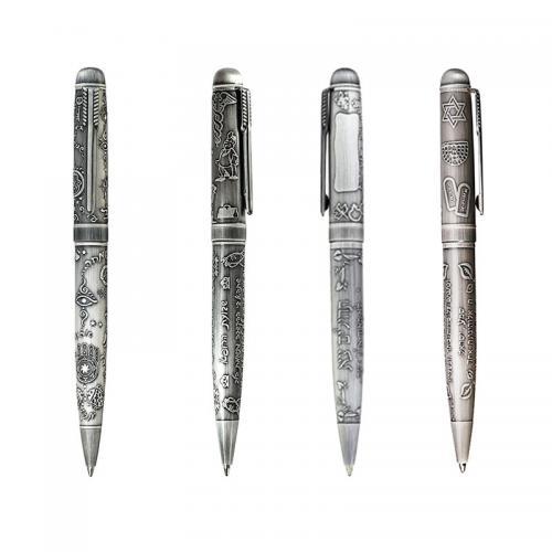 עטים יוקרתיים עם תבליטי יופיטר בברכות שונות