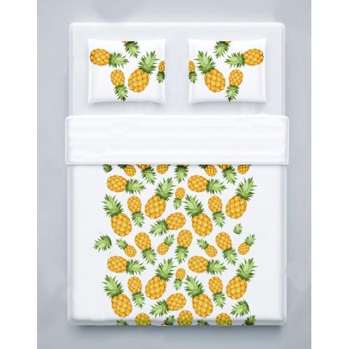סט מצעים זוגיים - pineapple