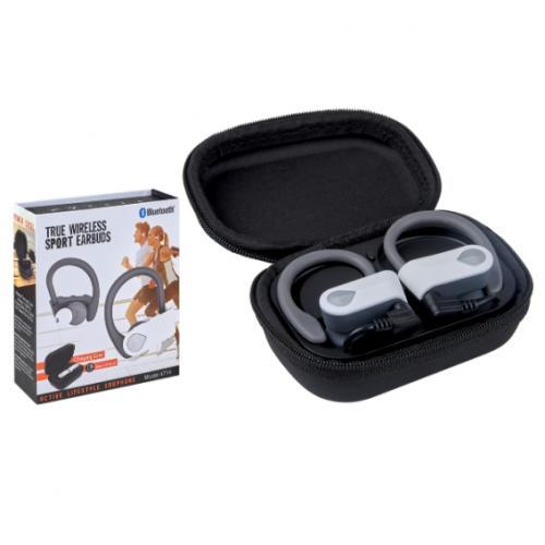 אוזניות ספורט בלוטוס EARBUDS איכותיות בנרתיק טעינה