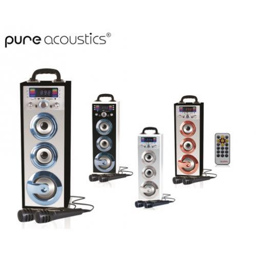מערכת קריוקי בלוטות' ניידת Pure acoustics