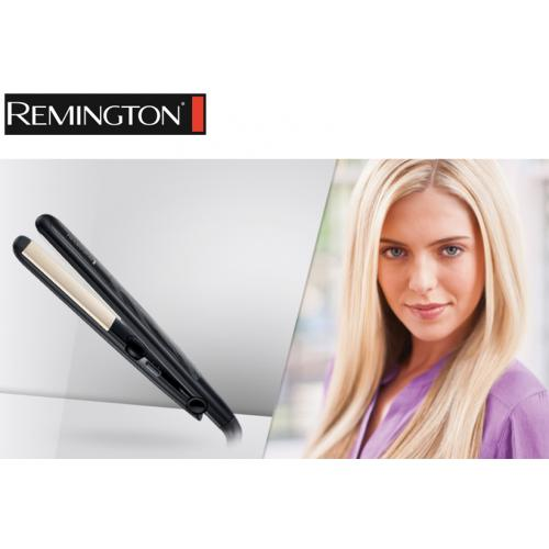 מחליק שיער 4 הגנות! Remington-Ceramic Straight